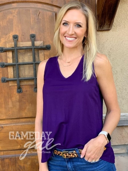 Game Day Cross Back Tank *3 Colors*