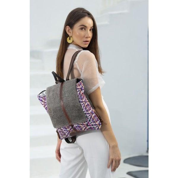 Spring Break Vibrantly  Vintage Backpack