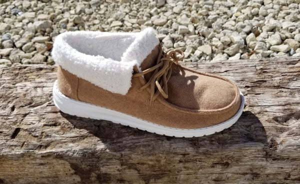 Tan Sherpa Mikey Shoe