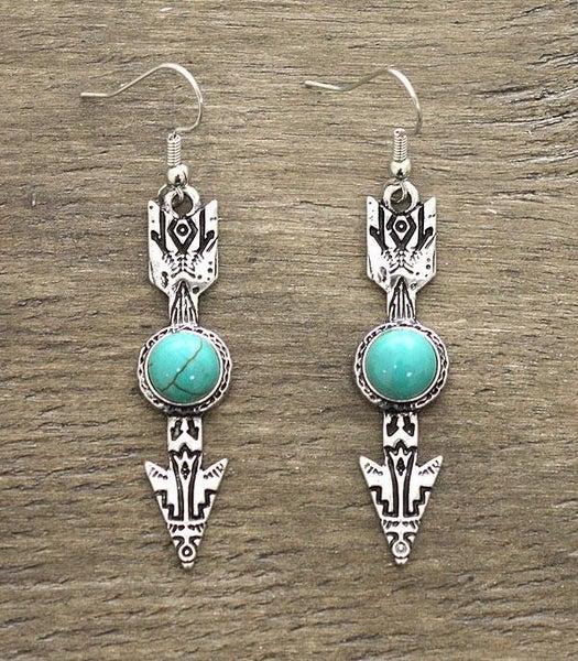 ArrowTurquoise Earrings