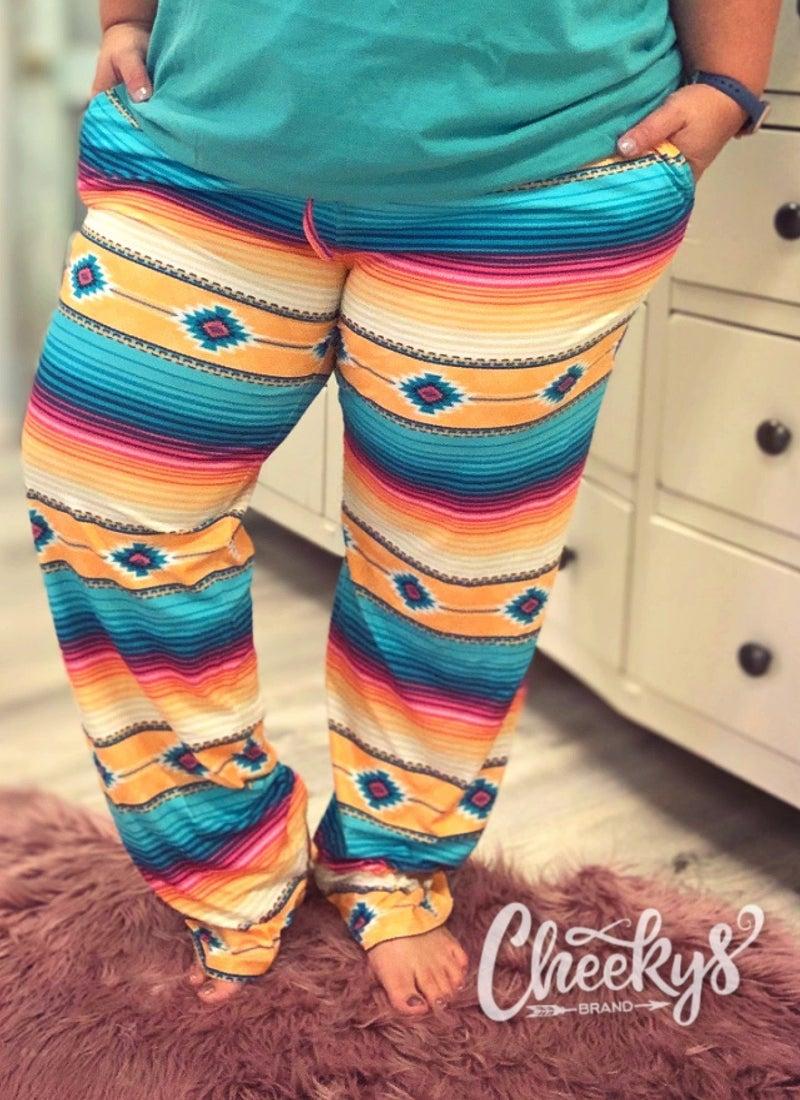 Cheeky's Cancun Serape Lounge Pants