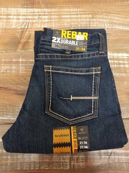 Ariat Rebar M4 Low Rise DuraStretch Edge Boot Cut Jean