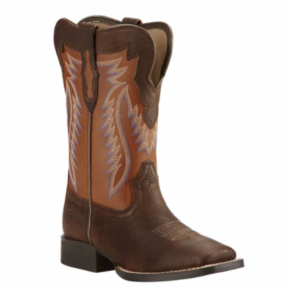 Ariat KIDS  Buscadero Pecos Brown Sorrel Western Boots