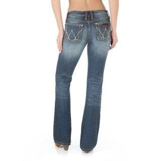 Wrangler Women's Retro Mid-Rise Mae Jeans