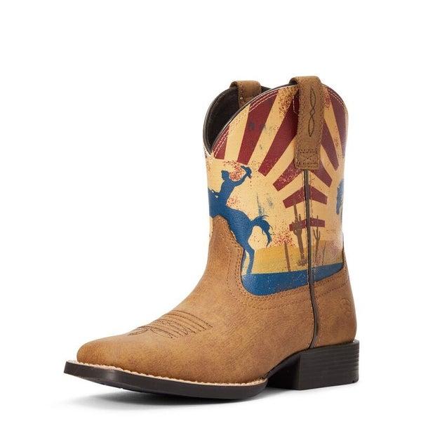 Ariat Toddler Dinero Tan/Sunset Boots