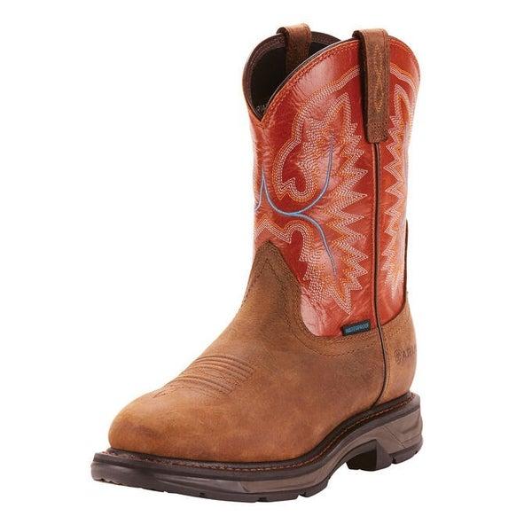 Men's Ariat WorkHog XT Waterproof Work Boot