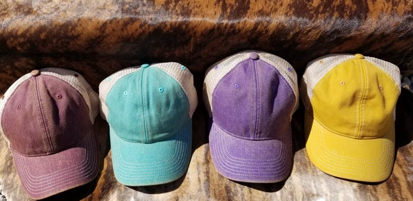Favorite Vintage Trucker Cap *4 Colors*