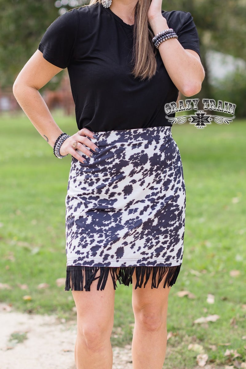 Crazy Train Annie Oakley Skirt