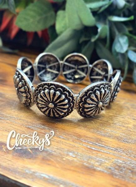 Cheeky's Amelia Concho Stretch Bracelet