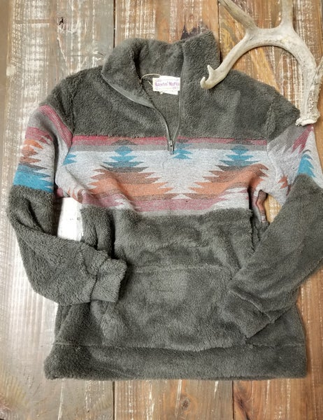 Navajo Sunsets Pullover Wubby