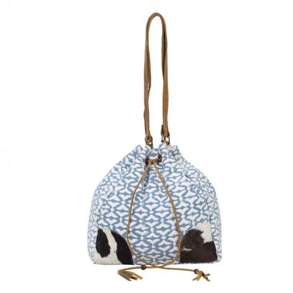 Deep Serene Bucket  Bag