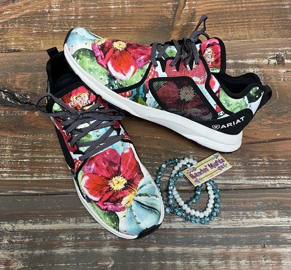 Ariat Floral Cactus Fuse Shoe