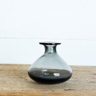 Beaker Vase Smoke Glass