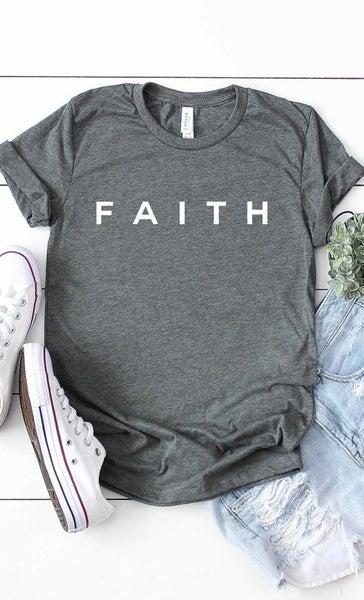 Curvy Faith Graphic Tee
