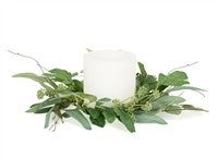 Mixed Eucalyptus Candle Ring