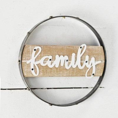 ROUND FAMILY TIN