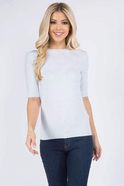 Knit Jersey Top