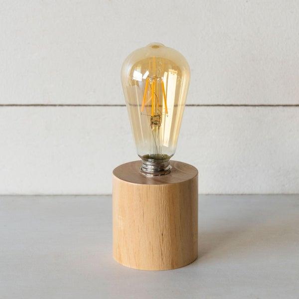 Natural Decorative Light Wood Base