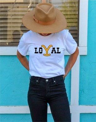 Loyal Yellowstone Crew Neck
