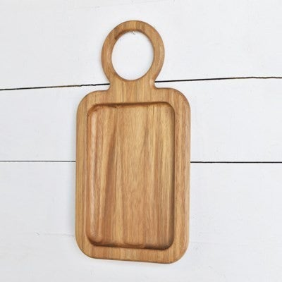 WOOD SERVING PLATE