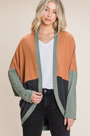 Soft French Terry Cardigan