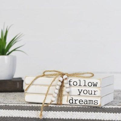 FOLLOW YOUR DREAMS 3 BOOK BUNDLE