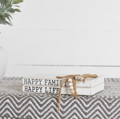 HAPPY FAMILY / LIFE 2 BOOK BUNDLE