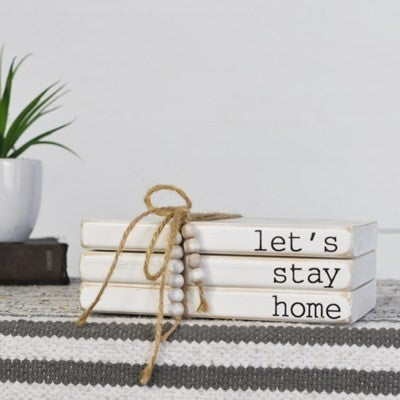 LET'S STAY HOME 3 BOOK BUNDLE