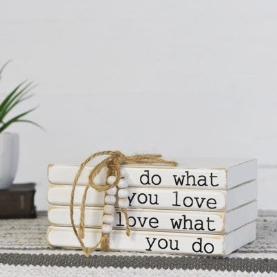 DO WHAT YOU LOVE 4 BOOK BUNDLE