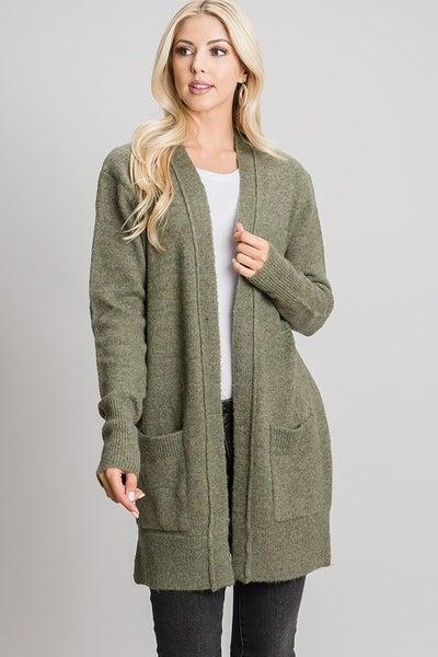 Soft Long Cardigan