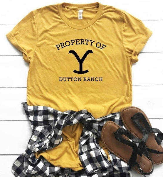 Property of Dutton Ranch Graphic Tee