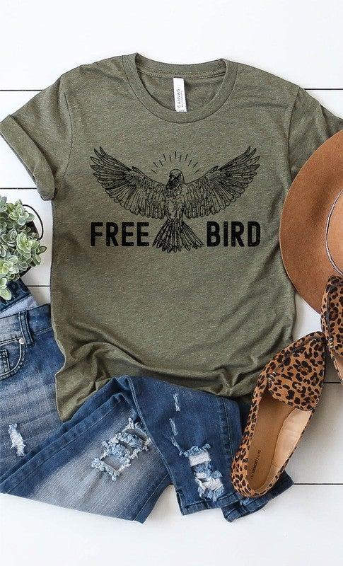 Retro Free Bird Graphic Tee