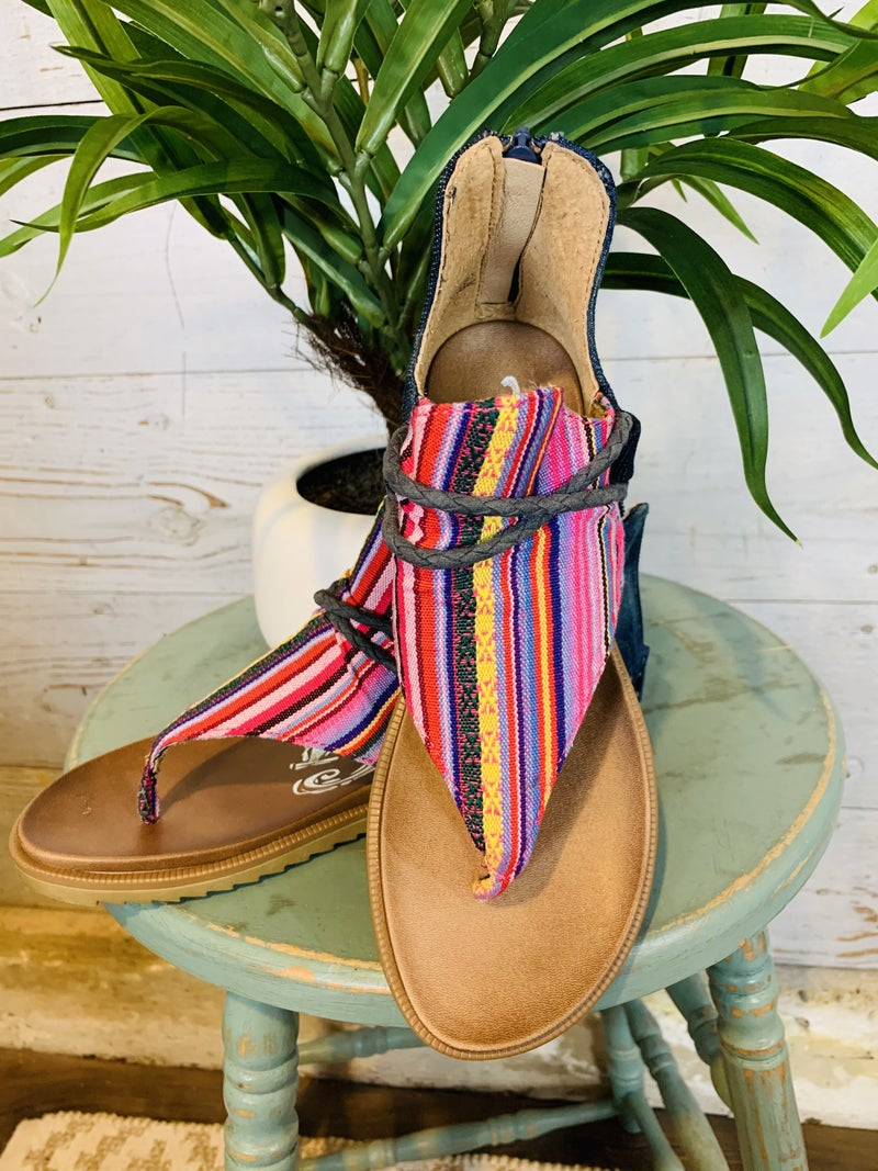 Dakota Serape Sandal