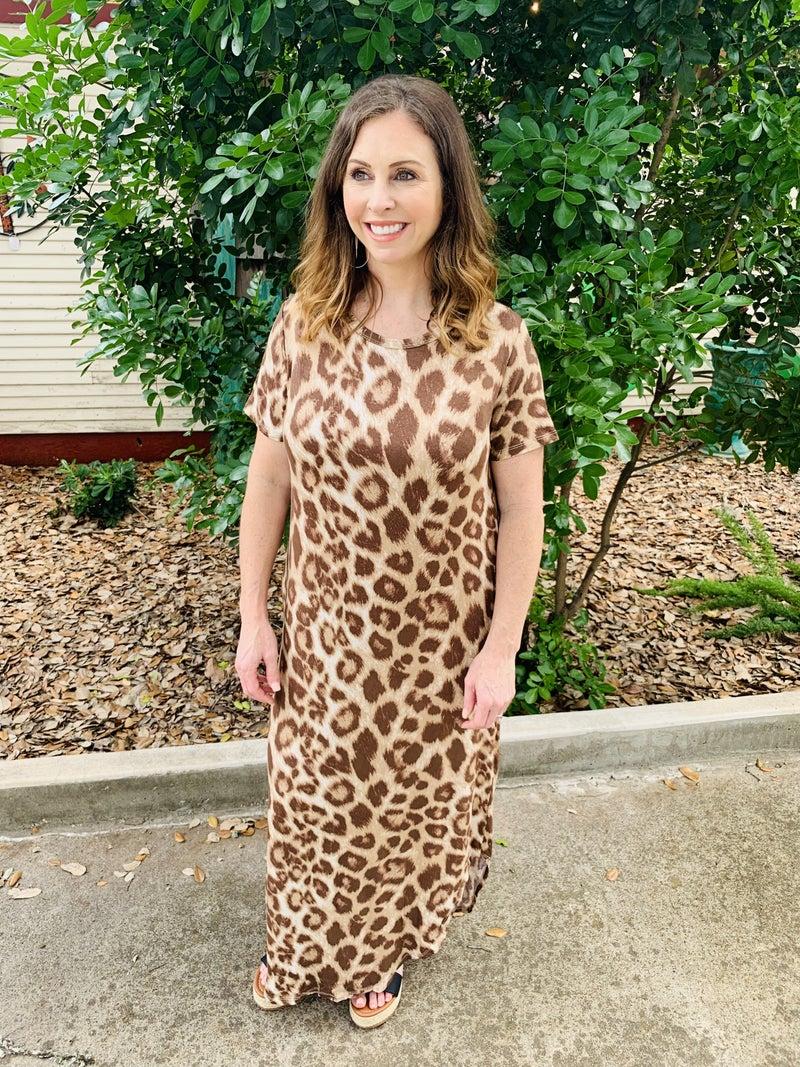 Cheetah Maxi Dress