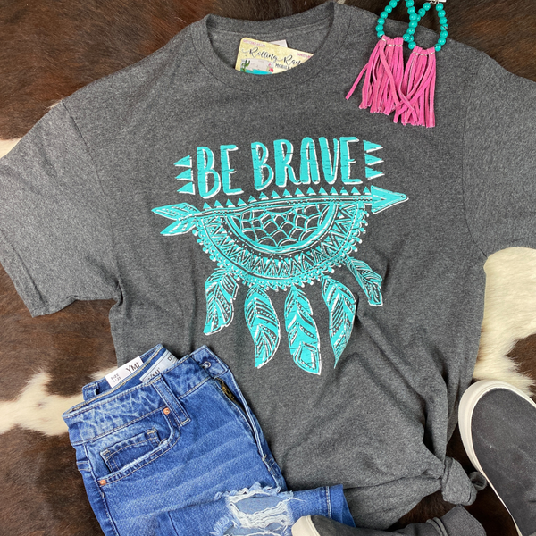 Be Brave Dream Catcher Tee | Small to 2X