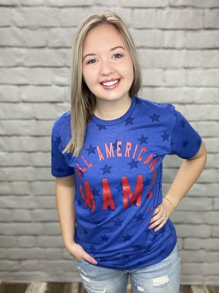 All American Mama Tee