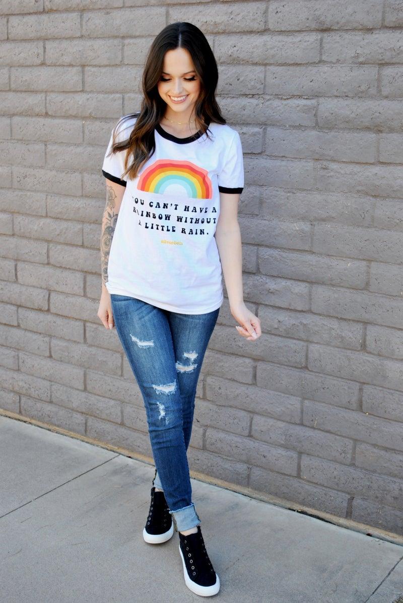 Rainbow Graphic Tee
