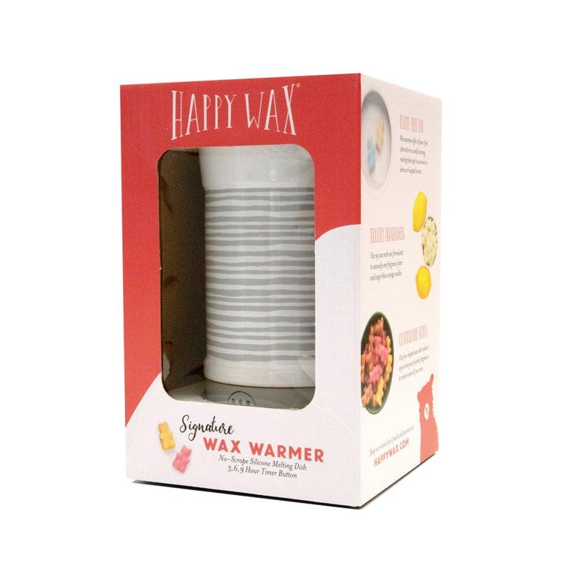 Signature Wax Warmer - Gray Stripe