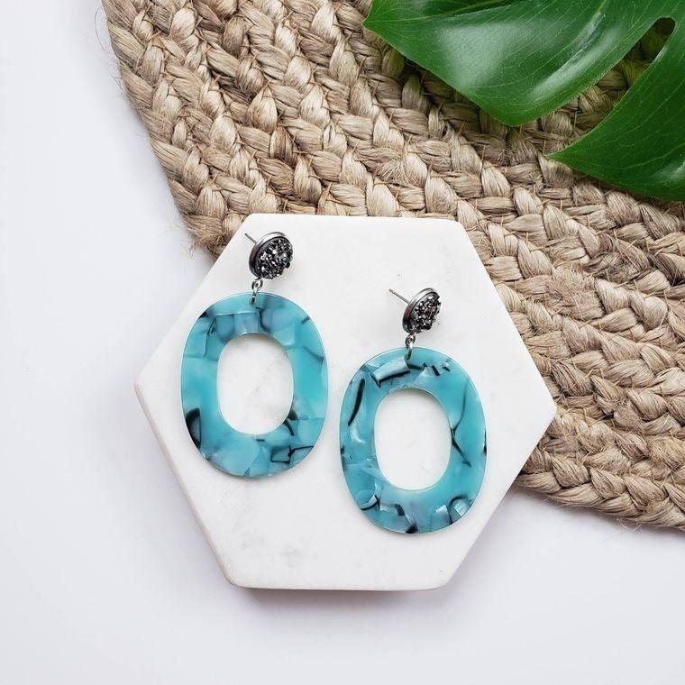 Sloan Earring- Blue