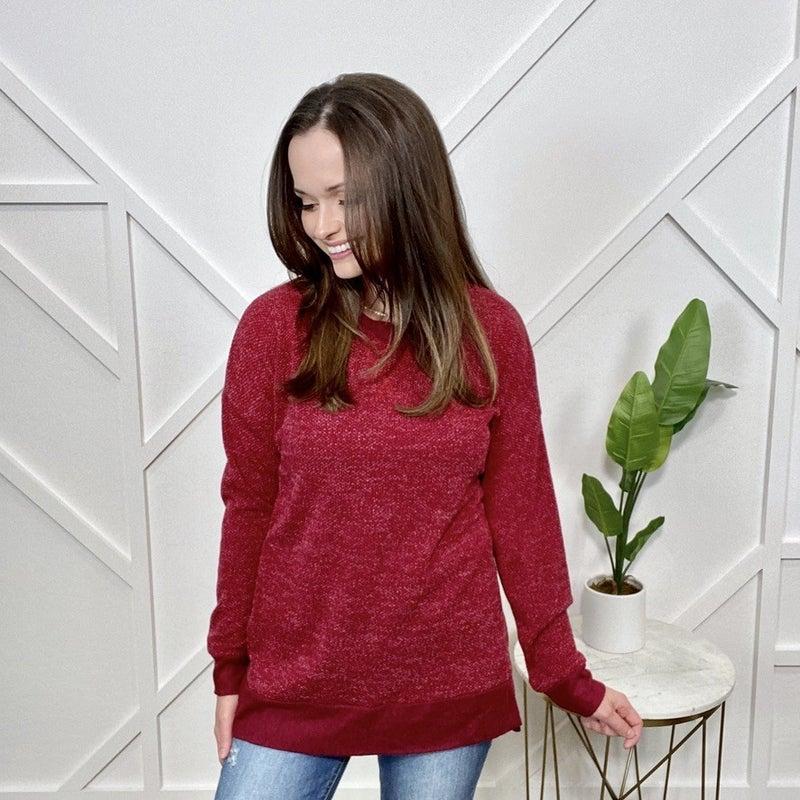 Wine Sweater Weekender