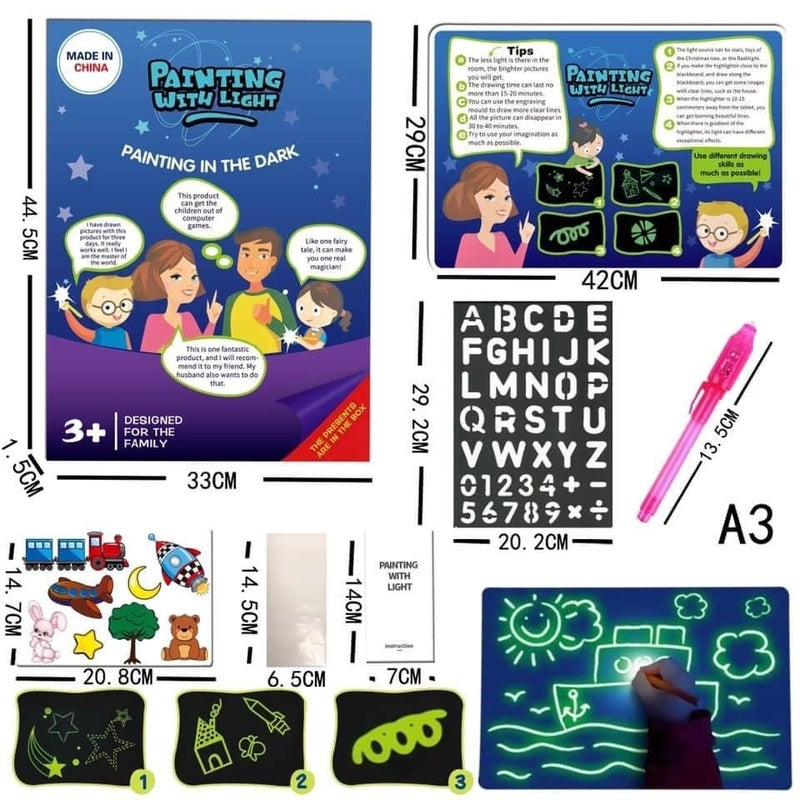 Magic Drawing Light Boards
