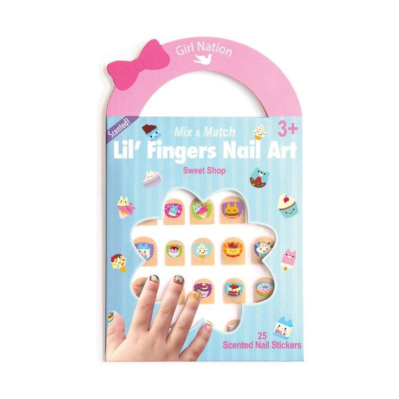 Lil' Fingers Nail Art- Sweet Shop
