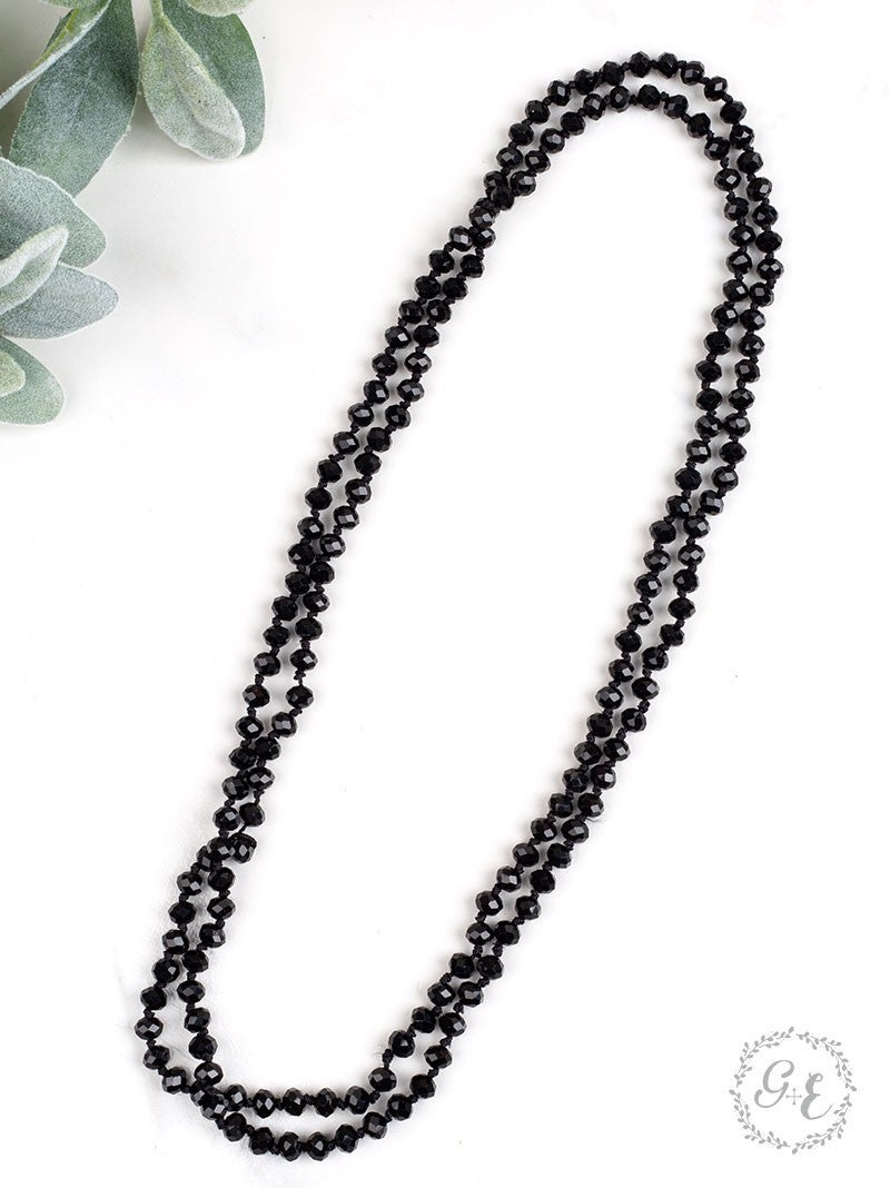 The Essential Double Wrap Beaded Necklace II