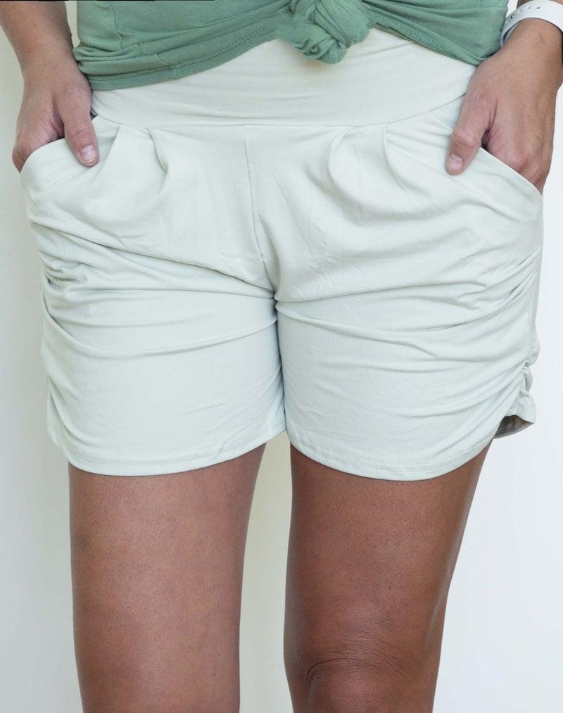 Sage Harem Shorts