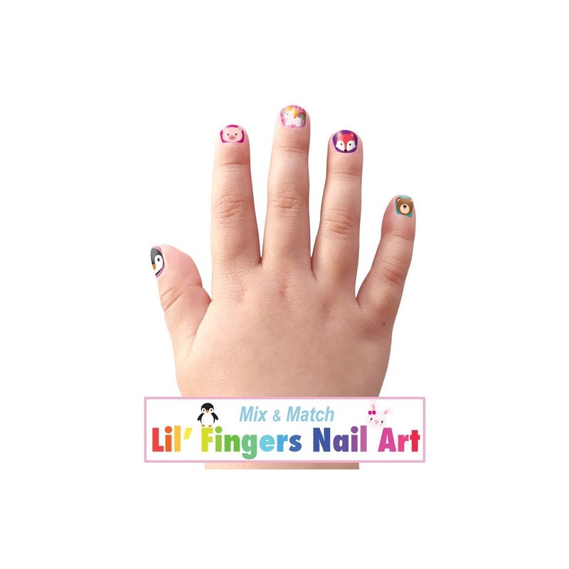 Lil' Fingers Nail Art- Animal Friends