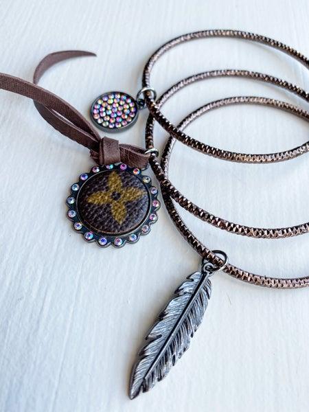 Upcycled Bangle Bracelet