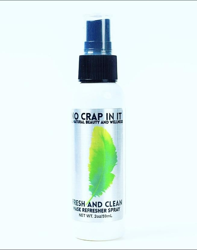 No Crap In It: Mask Refresher Spray