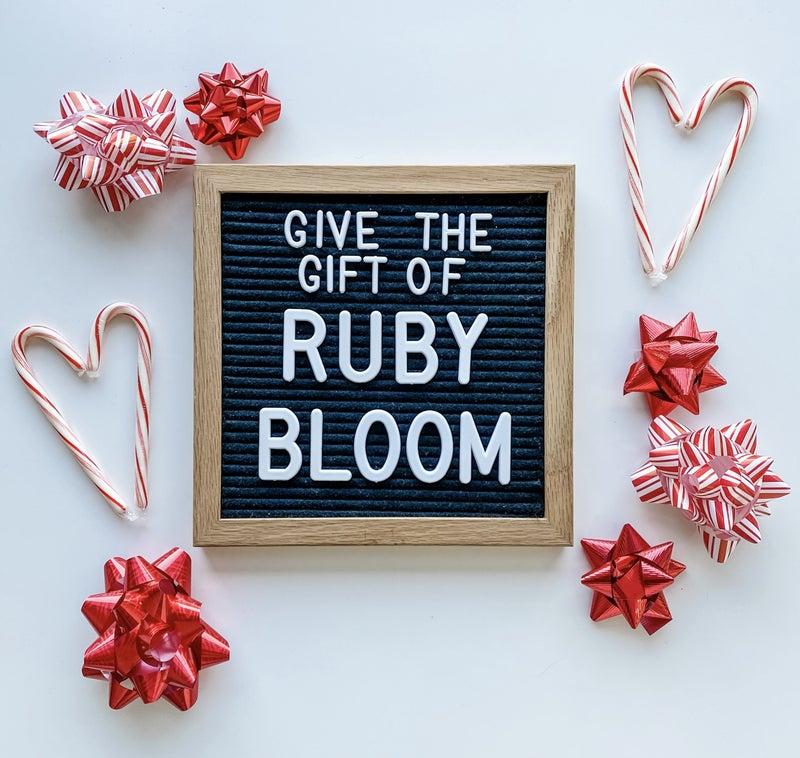 Ruby Bloom Gift Card