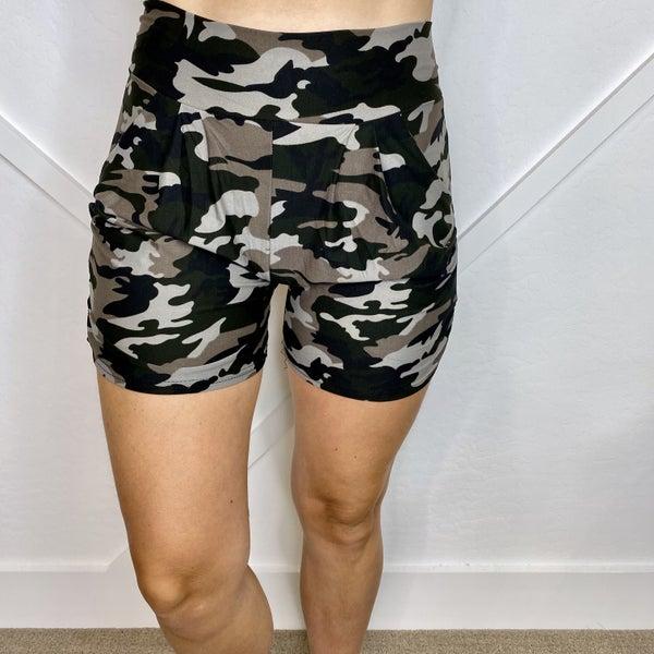 Camo Harem Shorts