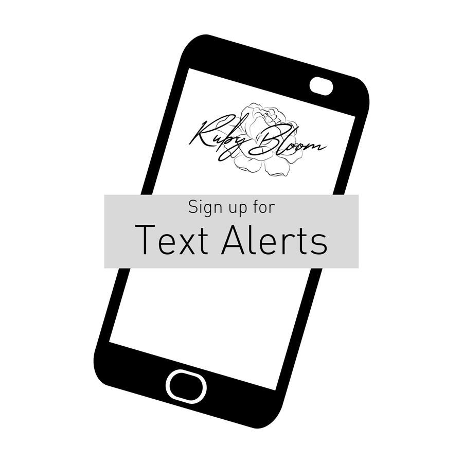 Text Alerts